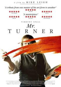 Mr Turner affisch